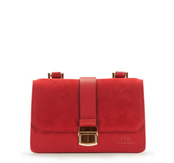 Flap bag, red, 86-4E-409-3, Photo 1
