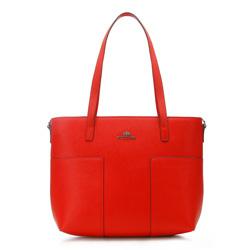 Torebka damska, czerwony, 86-4E-429-3, Zdjęcie 1