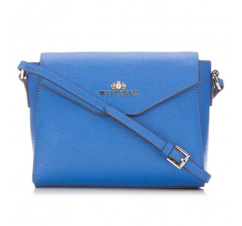 Torebka damska, niebieski, 86-4E-455-N, Zdjęcie 1
