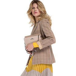 Sling bag, light brown, 86-4E-458-9, Photo 1