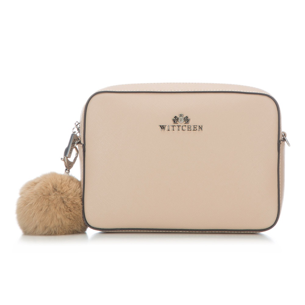 6f48255d7bd9f Mała torebka na ramię ze skóry naturalnej | WITTCHEN | 86-4E-459