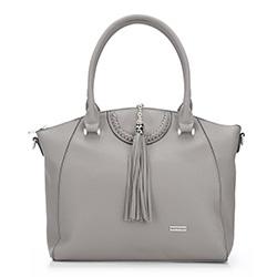 Tote  bag, grey, 86-4Y-100-8, Photo 1