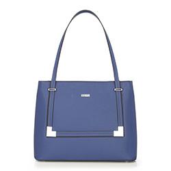 Tote bag, blue, 86-4Y-104-N, Photo 1