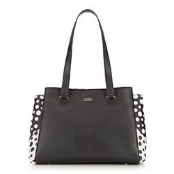 Tote bag, black-white, 86-4Y-106-1, Photo 1
