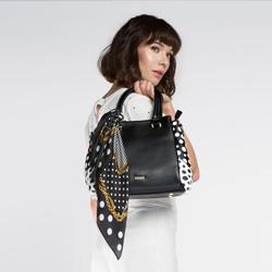Tote bag, black-white, 86-4Y-107-1, Photo 1