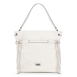 Shopper bag, ecru, 86-4Y-117-9, Photo 1