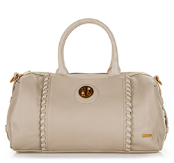 Tote bag, light beige, 86-4Y-205-9, Photo 1