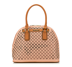 Tote bag, powder pink, 86-4Y-410-P, Photo 1