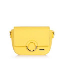 Torebka damska, żółty, 86-4Y-567-Y, Zdjęcie 1