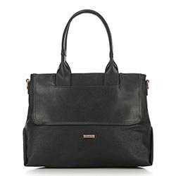 Tote bag, black, 86-4Y-664-1, Photo 1