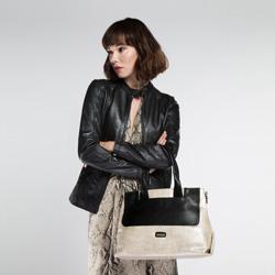 Tote bag, silver-black, 86-4Y-664-S, Photo 1