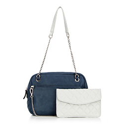 Tote bag, navy blue, 86-4Y-667-7, Photo 1