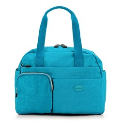 Women's handbag, turquoise, 86-4Y-902-Z, Photo 1
