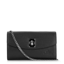 Clutch bag, black, 87-4-196-1, Photo 1