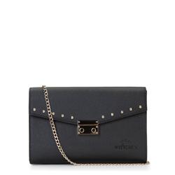 Clutch bag, black, 87-4-261-1, Photo 1