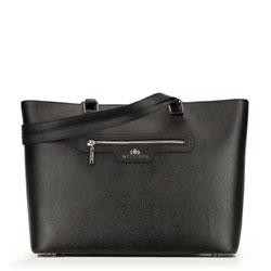 Shopper bag, black, 87-4-274-1, Photo 1