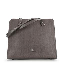Tote bag, grey, 87-4-366-8, Photo 1