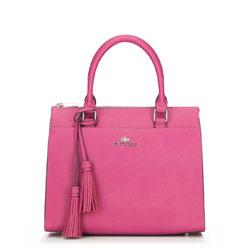 Tote bag, pink, 87-4-418-P, Photo 1
