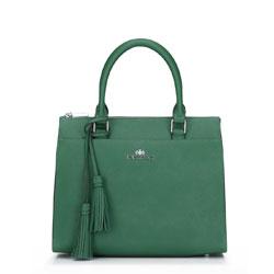 Tote bag, green, 87-4-418-Z, Photo 1