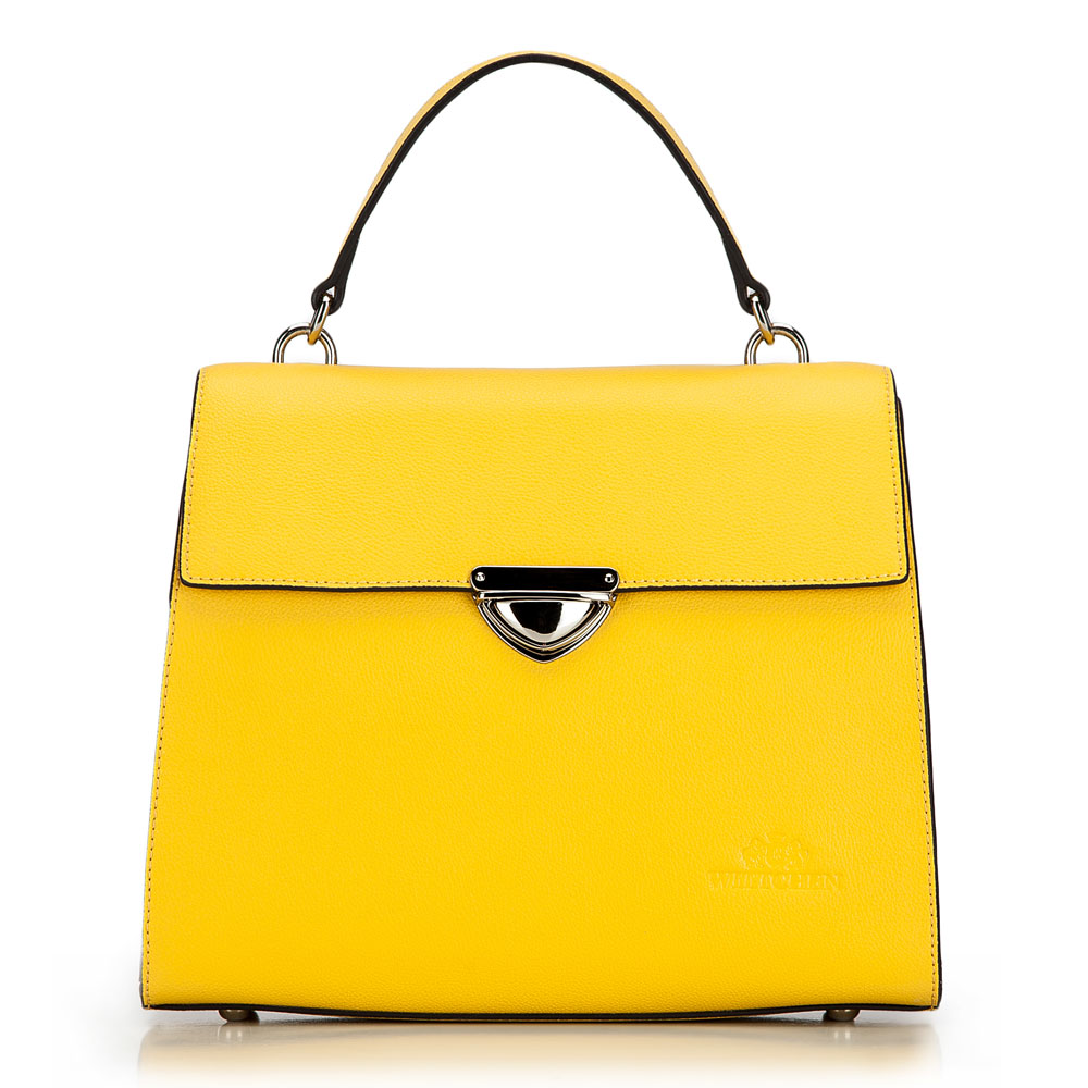 Купить Женская сумка Wittchen, Германия, желтый
