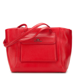 Shopper bag, red, 87-4E-200-3, Photo 1
