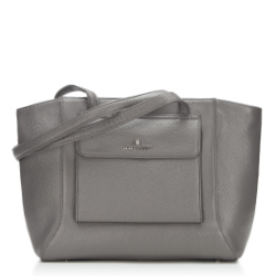 Shopper bag, grey, 87-4E-200-8, Photo 1