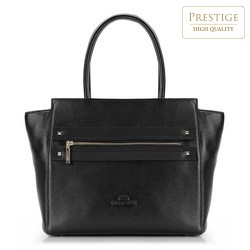 Shopper bag, black, 87-4E-207-1, Photo 1