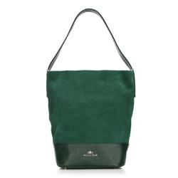 Torebka damska, zielony, 87-4E-215-Z, Zdjęcie 1