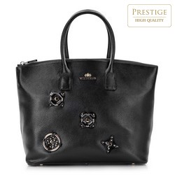 Shopper bag, black, 87-4E-224-1, Photo 1