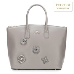 Shopper bag, grey, 87-4E-224-8, Photo 1