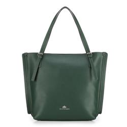 Torebka damska, zielony, 87-4E-406-Z, Zdjęcie 1