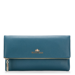 Clutch bag, blue, 87-4E-438-N, Photo 1