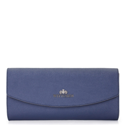 Clutch bag, navy blue, 87-4E-445-7, Photo 1