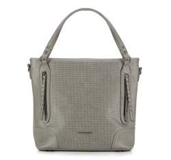Shopper bag, grey, 87-4Y-401-8, Photo 1