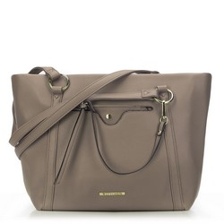 Shopper bag, beige, 87-4Y-405-9, Photo 1