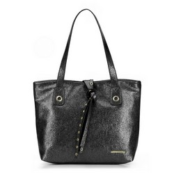 Shopper bag, black, 87-4Y-411-1, Photo 1