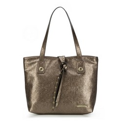 Shopper bag, dark brown, 87-4Y-411-4, Photo 1