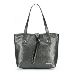 Shopper bag, silver, 87-4Y-411-S, Photo 1