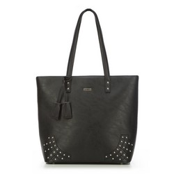 Shopper bag, black, 87-4Y-559-1, Photo 1