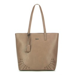Shopper bag, beige, 87-4Y-559-9, Photo 1
