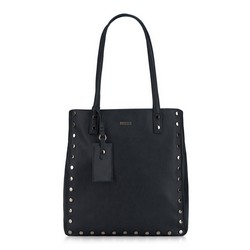 Shopper bag, black, 87-4Y-560-1, Photo 1