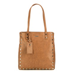 Shopper bag, dark brown, 87-4Y-560-4, Photo 1