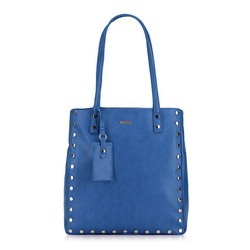 Shopper bag, blue, 87-4Y-560-N, Photo 1