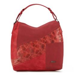 Torebka damska, czerwony, 87-4Y-575-3, Zdjęcie 1