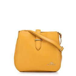 Torebka damska, żółty, 88-4E-205-Y, Zdjęcie 1