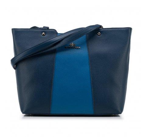 Torebka damska, granatowo - niebieski, 88-4E-208-7, Zdjęcie 1