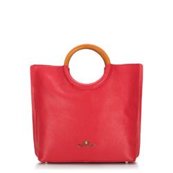 Torebka damska, czerwony, 88-4E-213-3, Zdjęcie 1