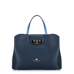 Tote bag, navy blue, 88-4E-416-7, Photo 1