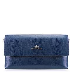Torebka damska, niebieski, 88-4E-428-7, Zdjęcie 1