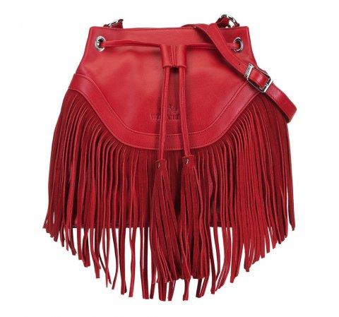 Torebka damska, czerwony, 88-4E-925-3, Zdjęcie 1